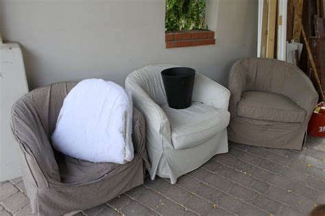 simple barrel chair slipcovers homesfeed