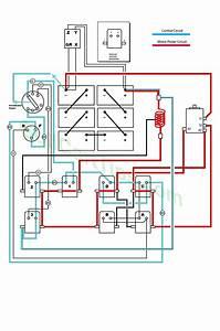 Ezgo Wiring Diagrams Model 300 Late 1950 U0026 39 S