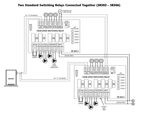 zone valve wiring installation guide to