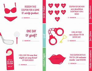 23 love coupon book ideas for your next anniversary gift With sex coupon template