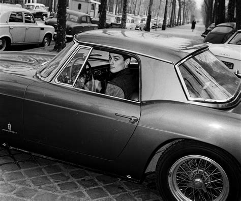 In 1960 scaglietti revealed the 250 gt california spyder swb at geneva, its body pulled more tautly over this updated chassis. Alain Delon in his Ferrari 250 GT (With images) | Ferrari ...