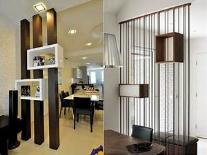 Attractive, Wooden, Screens, Used, As, Room, Dividers