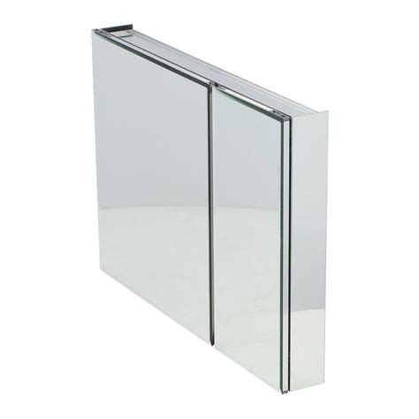 recessed mount medicine cabinet pegasus 36 in w x 26 in h frameless recessed or surface