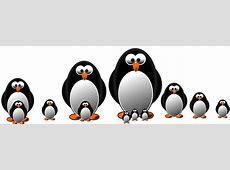 Kostenlose Illustration Pinguin, Grafik, Zeichnen
