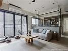 200萬-300萬 40坪 北歐風 3房 新成屋 裝修效果圖- 台中M宅 -100室內設計