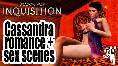 Dragon Age Inquisition Cassandra Romance And Sex Scenes