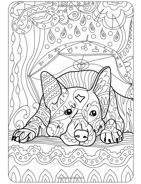 doodle dogs coloring books for adults featuring over 30
