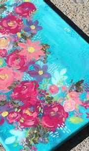 How to Make a Layered Resin Painting - Resin Crafts