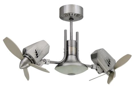 Metropolitan Dual Motor Ceiling Fan by Modern Metal Wood Led Ceiling Fan West Elm Lights And Ls