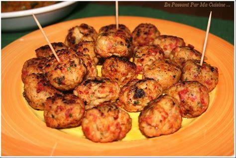 recette de cuisine albondigas sauce pimentée les tapas affolent les papilles