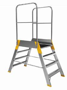 Leiter 3 Stufen : podest leiter zweiseitig br cke alu plattform gr e 2 3 2 4 stufen rh store leitern ~ Markanthonyermac.com Haus und Dekorationen