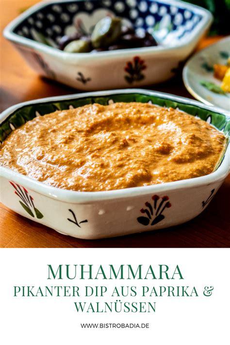 muhammara muss sich als dip nicht hinter hummus und baba