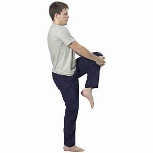 Standing Up Stretches for Hamstrings & Piriformis Muscles ...