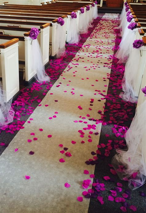 Church Decoration For Wedding Wedding Aisle Decorations
