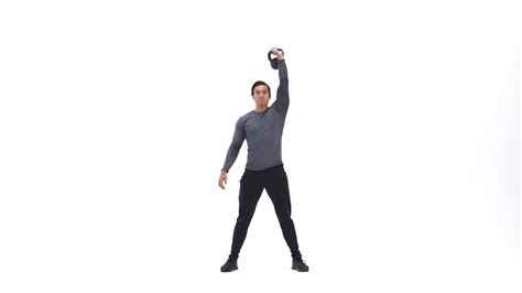 overhead squat kettlebell single arm bodybuilding exercises exercise