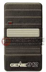 Genie Garage Door Opener 12 Dip Switch Remote Gpt90