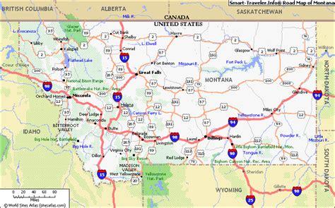 map  montana