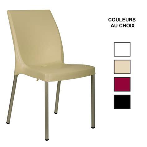 chaise exterieure chaise exterieure en polypropylene 4 couleurs au choix cpg