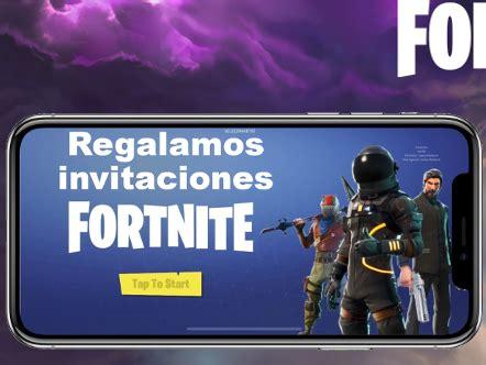 invitaciones gratis  fortnite ios juegos  en taringa