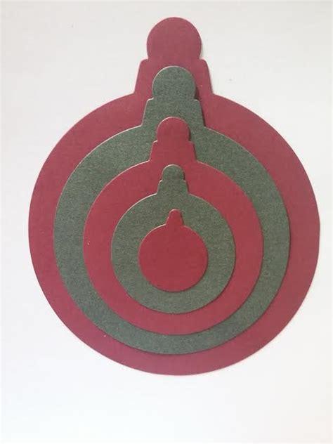 diemond dies nesting christmas ornaments die set