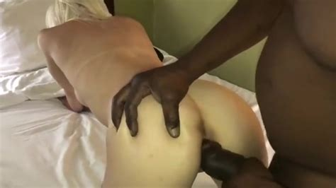 Big Black Cock Fucks A Slut Wife While Hubby Films
