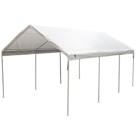 king canopy ft ft universal canopy white cpc home depot