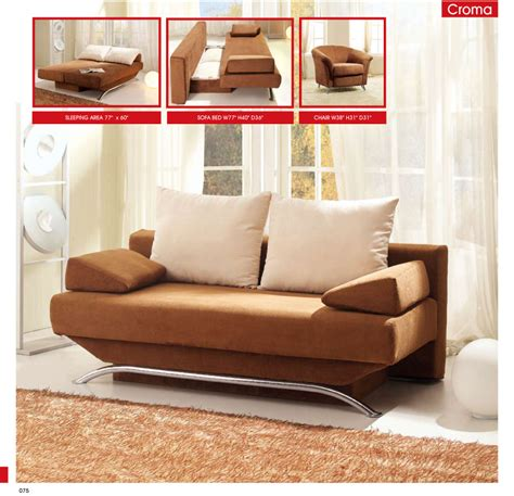 sofas brown modern minimalist sofa bed metal frame