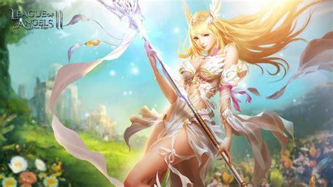 league  angels wallpapers angel warrior fantasy wallpaper