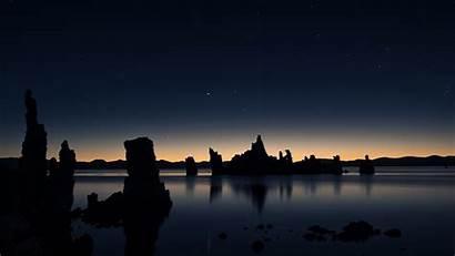 Dark Nature Wallpapers Resolution Silhouettes Landscape Rocks