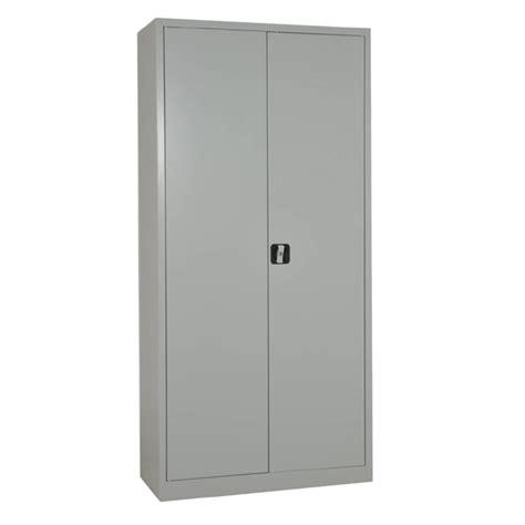 mobilier bureau entreprise armoire métallique portes battantes hauteur 180 negostock