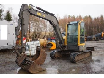 volvo ecr  mini excavator  norway  sale  truck id