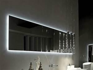 Miroir Pour Salle De Bain : miroir rectangulaire pour salle de bain 2hd by rifra ~ Dode.kayakingforconservation.com Idées de Décoration
