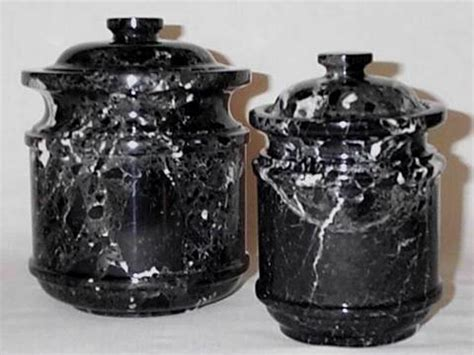 black canisters for kitchen black marble kitchen canister set 2 set