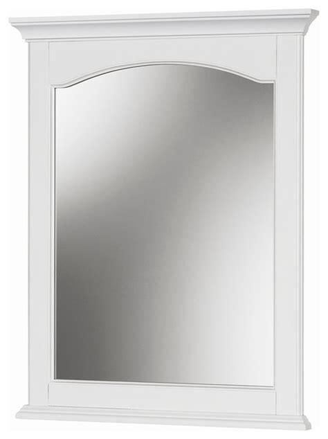corsicana  white mirror transitional bathroom