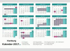 FERIEN Hamburg 2017 Ferienkalender & Übersicht