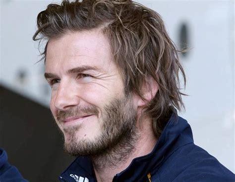 25 Best Images About David Beckham Long Hair On Pinterest