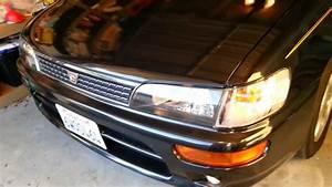 1996 Toyota Corolla Ae101 Bz Touring Corner Light 7443 Conversion