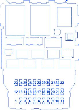 04 Rsx Fuse Diagram by Acura Rsx 2000 Dash Fuse Box Block Circuit Breaker