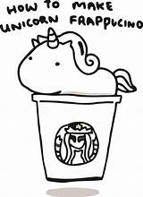 Starbucks Coloring Unicorn Pages Printable Print Kawaii Drawing Coffee Cup Frappucino Activityshelter Sheets Yimg Via Mar Index sketch template