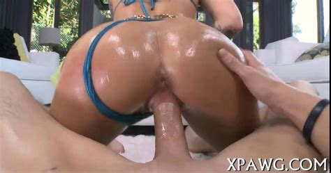Tattooed Emo Porn Star Oiled Up For Hot Sex Doggy Style On GotPorn