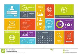 user interface design gmbh windows 8 modern ui design layout stock image image 32844531