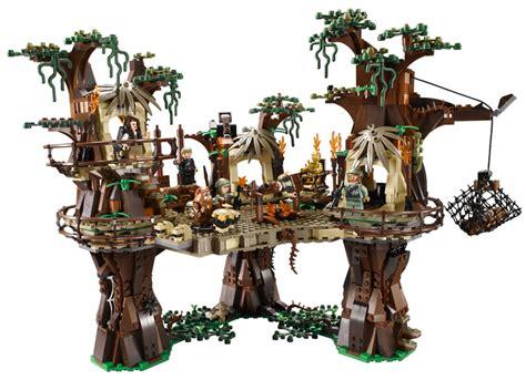 lego star wars ewok village 171 inhabitat green design