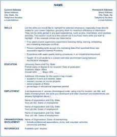 functional resume template for career change certified nursing assistant s 3 different resume types for nursing