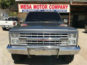1987 Gmc High Sierra 1500 350 Manual Stepside For Sale