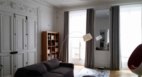 rideau de sur mesure etofea des rideaux sur mesure haut de gamme pour un appartement haussmanien etofea
