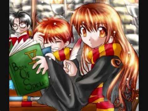 Anime Wallpaper Harry Potter by Harry Potter Anime Style