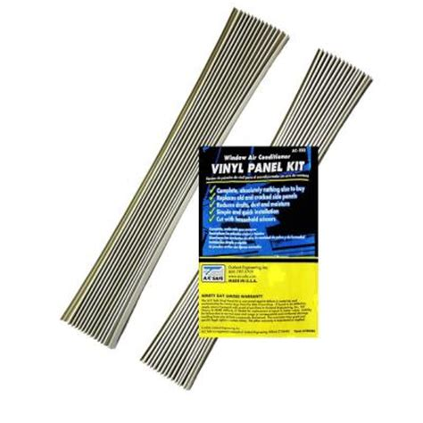 ac safe vinyl panel replacement kit for window air
