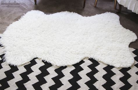 faux fur rug cheap make a faux sheepskin rug honeybear