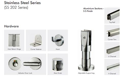 parts for glass shower doors washroom cubicles toilet cubicles washroom systems