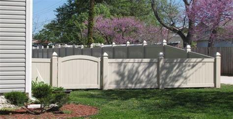 white wood fence panels wood vs vinyl fencing mmc fencing railing
